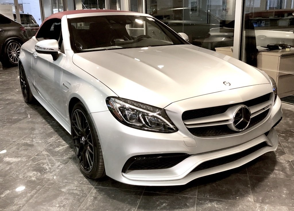 pre-owned 2017 mercedes-benz c-class c 63 amg® cabriolet 2d